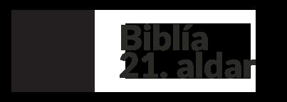 Biblía 21. aldar Logo