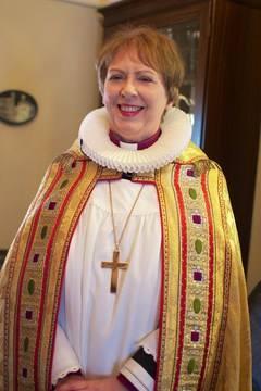 Frú Agnes M Sigurðardóttir biskup