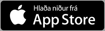 Sækja Biblíu-appið fyrir iPhone og iPad.