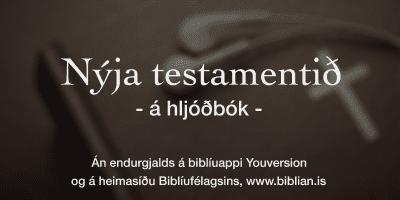 Biblían á hljóðbók
