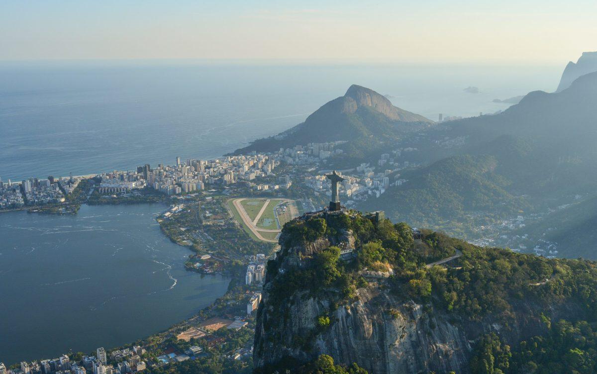 Mynd frá Ríó í Brasilíu