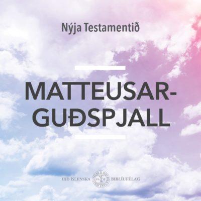 Matteusarguðspjall - hljóðbók