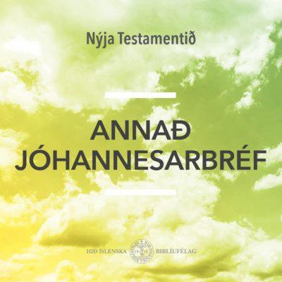 Annað Jóhannesarbréf - hljóðbók